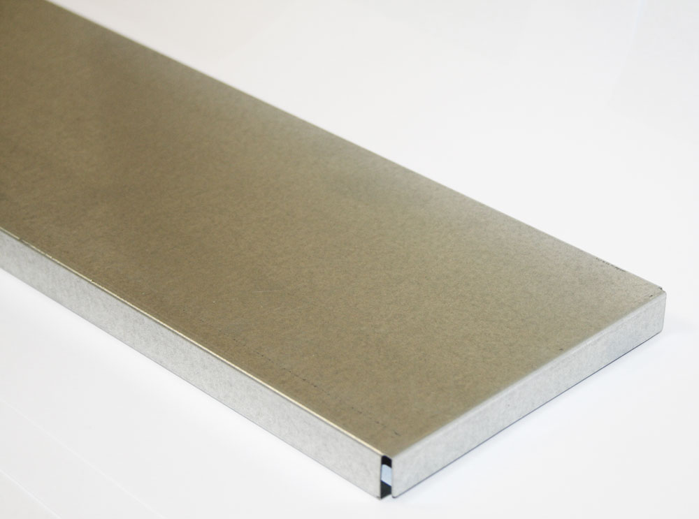 Steel Shelves - 600mm Deep x 0.6mm Thick Steel